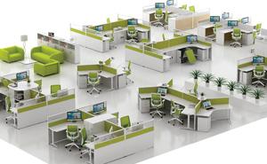 怎么挑选完美设计办公室家具?西安立居办公家具厂家为你解答