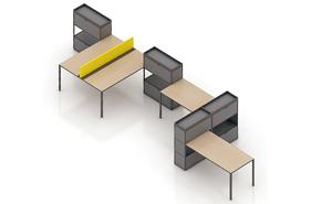 【西安办公家具】现代模块化办公家具--立居办公