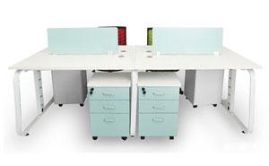 西安现代办公家具——屏风工位