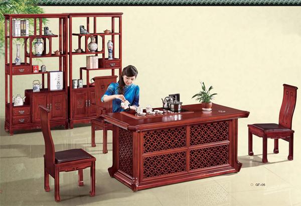 实木办公家具-中式茶几