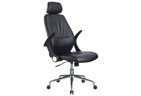HLC-0236-1牛皮办公椅转椅
