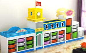 幼儿园玩具柜J00901