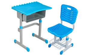 西安教学家具-课桌椅1
