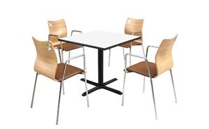 西安教学家具-餐厅食堂2