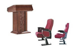 西安办公家具-报告厅3