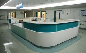 西安医疗家具-护士站2