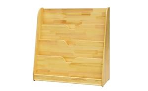 幼儿园家具-原木书柜