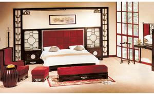 西安办公家具-酒店客房家具1