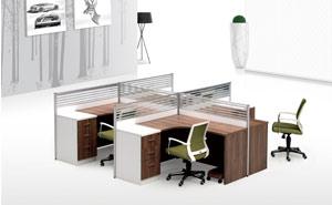 AHB-3216四人位办公桌屏风