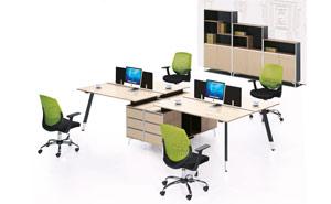 职员区办公家具5-西安办公家具