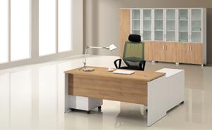 MS-007D主管办公桌【西安办公家具】