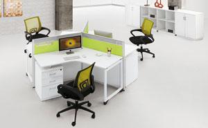 西安办公家具-职员办公区8