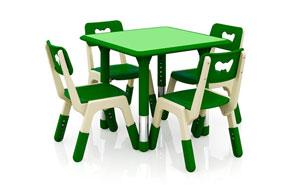 幼儿园家具-JQ四人桌