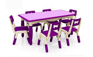 幼儿园家具-JQ欧式六人桌