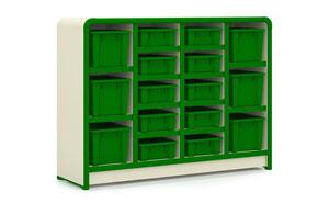 幼儿园家具-JQ玩具整理柜