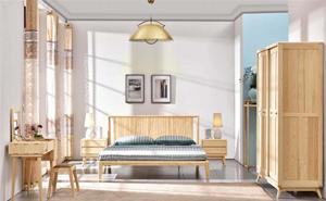 白蜡木实木-卧室系列