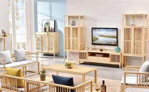 白蜡木实木-客厅系列