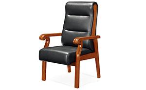 Y-058实木会议椅